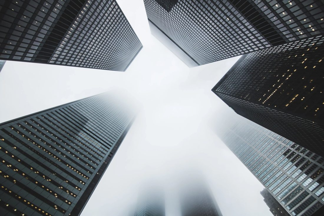 GDPR hospitality - skyscrapers