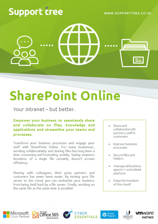 Effortless sharing with ST SharePoint Online