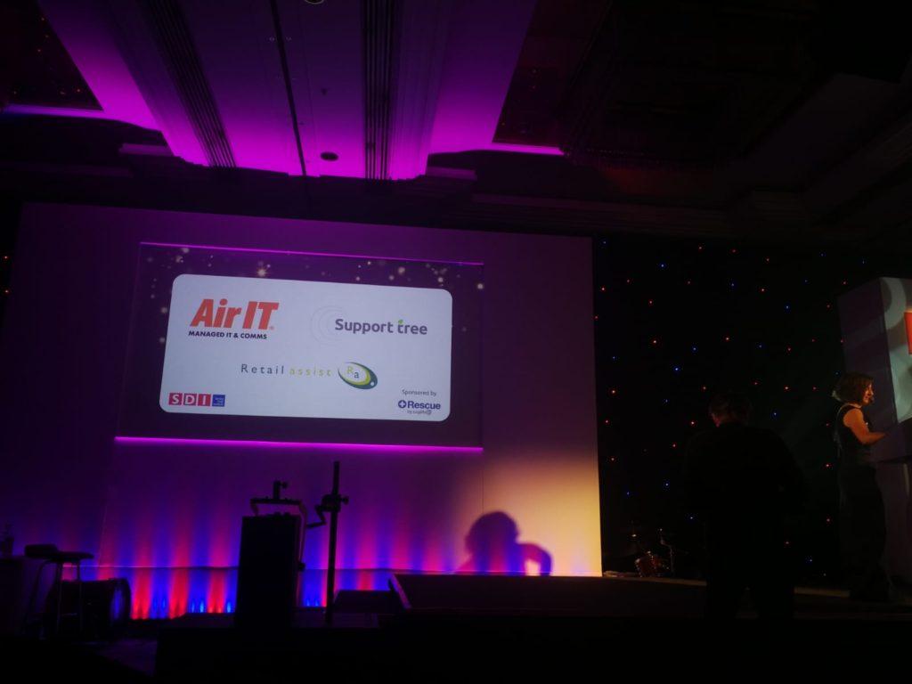 Support Tree Logo at SDI 19 Finals